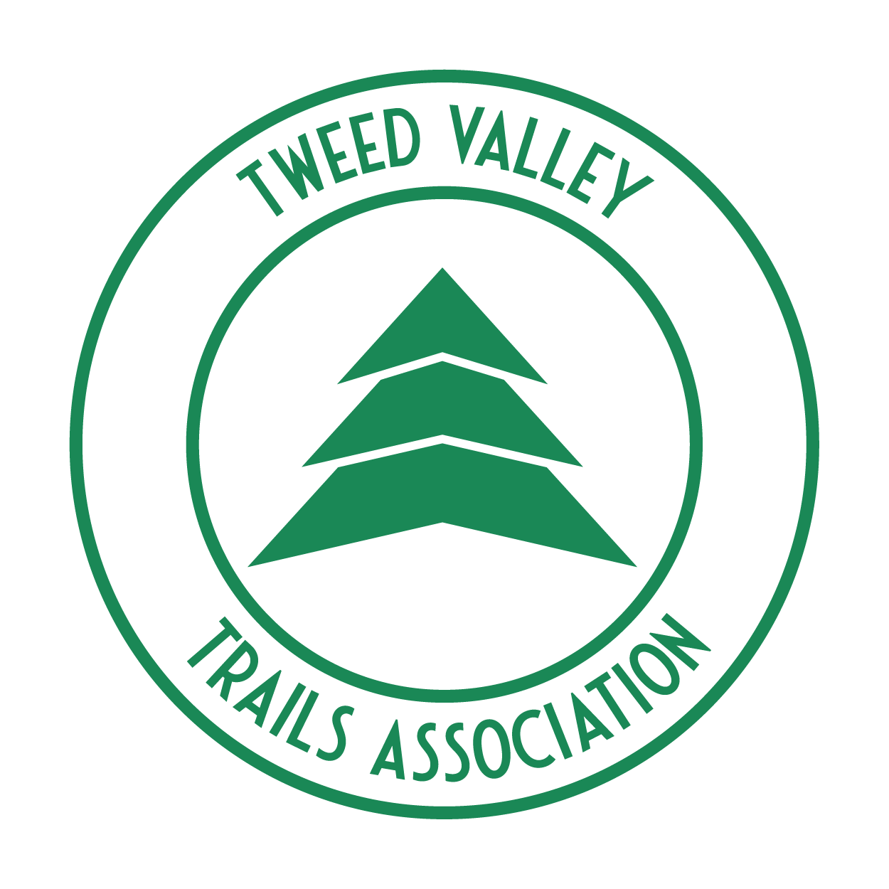 Tweed Valley Trail Association, Golfie Trail, cotic trail fund, powered by cotic