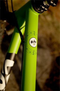 BFe275 in Matte Bright Green