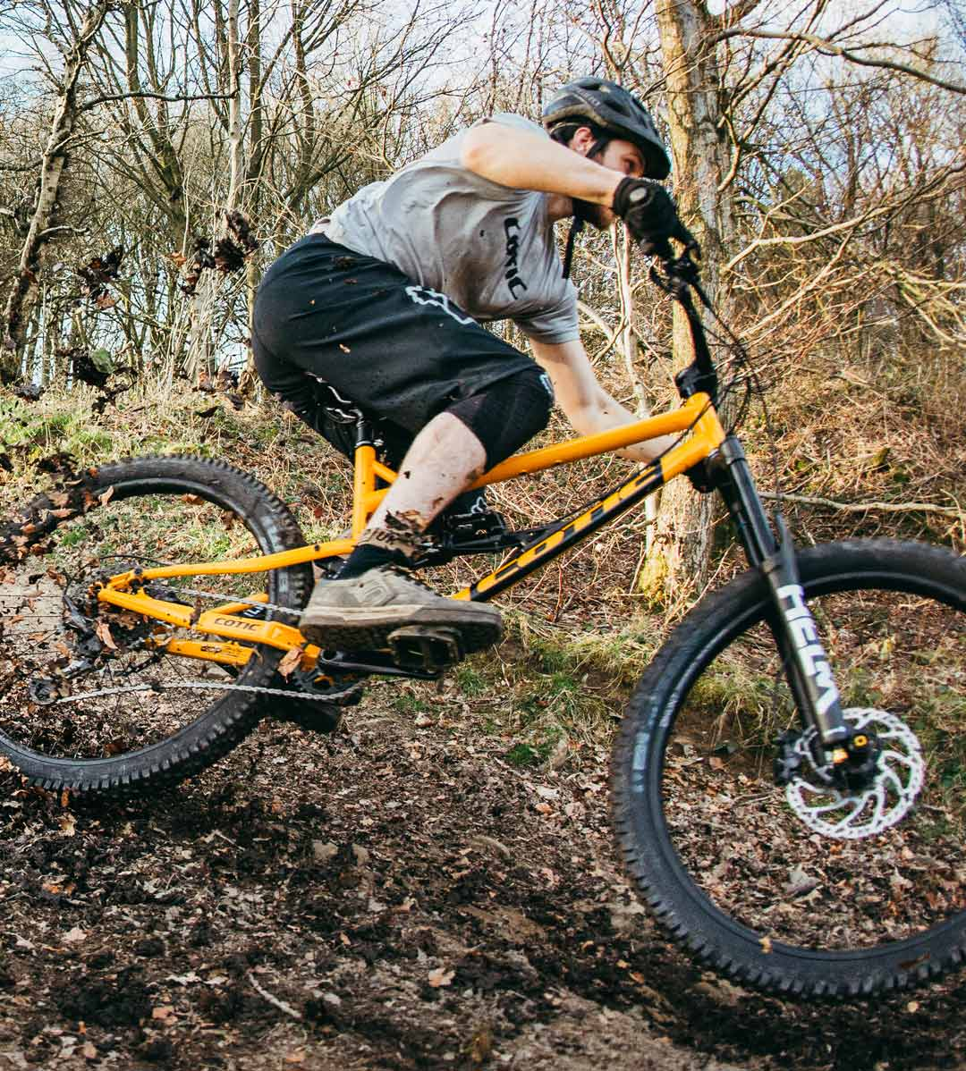 new cotic Rocket, cotic bikes, love it or your money back, money back guarantee, steel is real, steel full suspension, enduro full suspension, mountain bike, reynolds 853