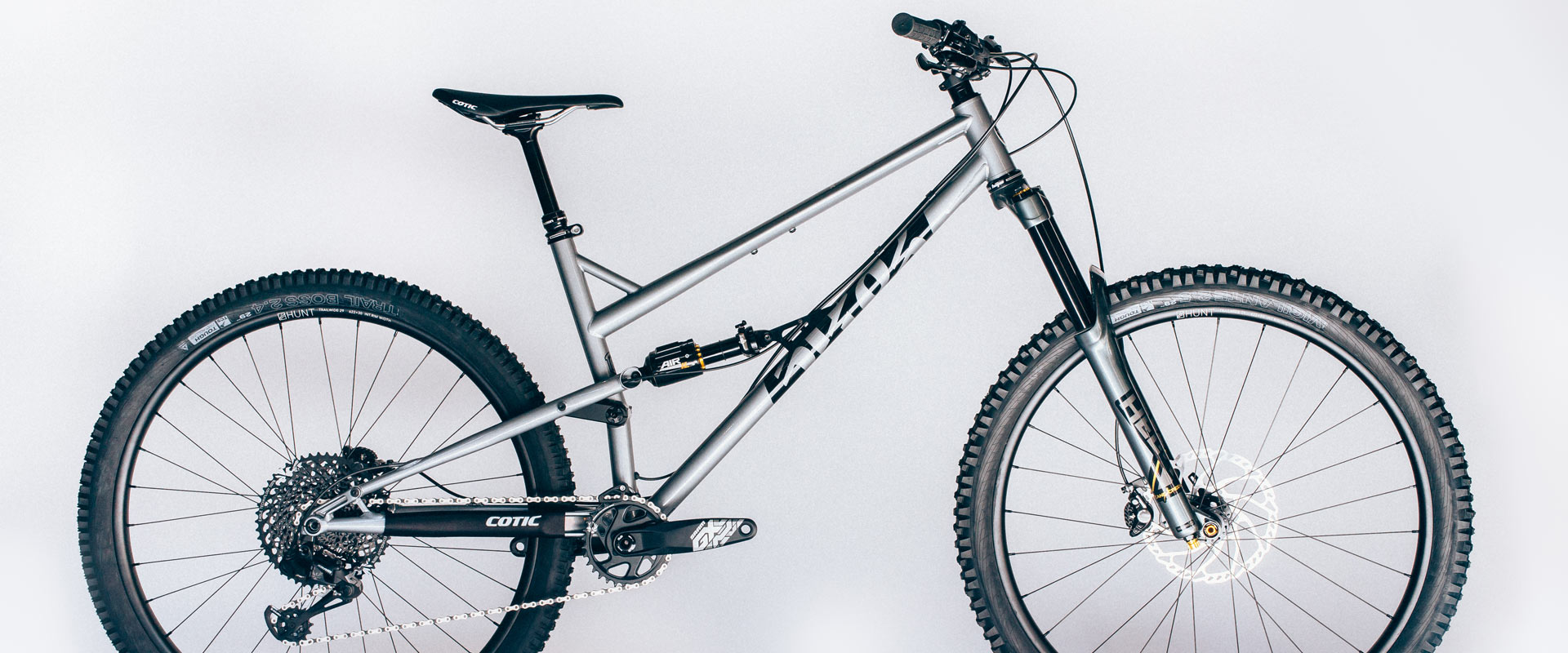 Cotic RocketMAX, Reynolds 853, Steel Full Suspension